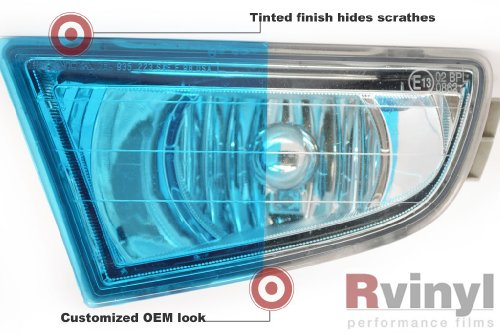 Headlight Protection Film Covers - BMW X3 2011 2012 2013 2014 - Blue Smoke Protection