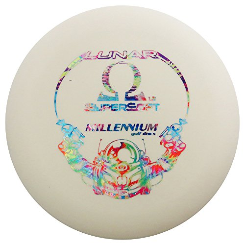 Millennium Lunar Glow SuperSoft Omega Putter Golf Disc [Colors may vary] - - Omega Disc