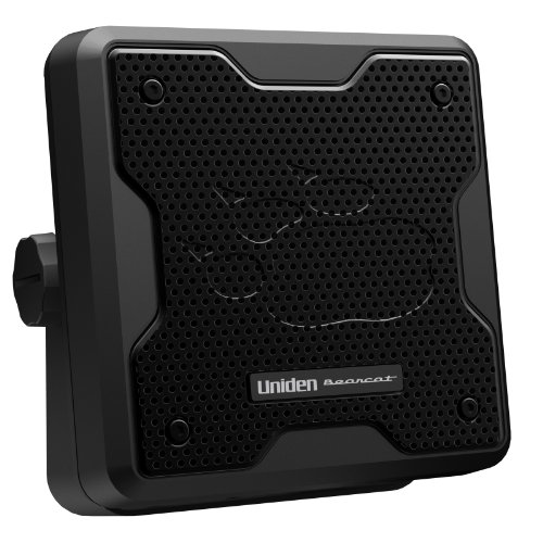 Uniden (BC20) Bearcat 20-Watt Amplified External Communications Speaker. Durable Rugged Design, Perfect for Amplifying Uniden Scanners, CB Radios, and Other Communications Receivers.