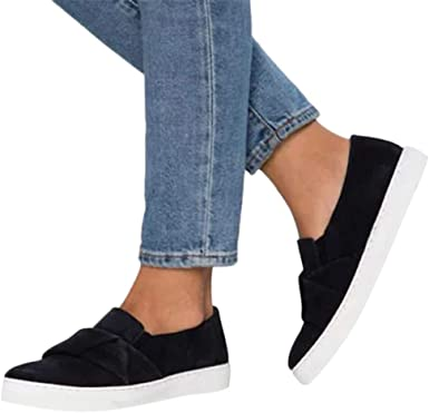 4Clovers Casual Breathable Sneakers for Women Men Knit Slip On Walking Shoes Athletic Shoes for Unisex Lovers