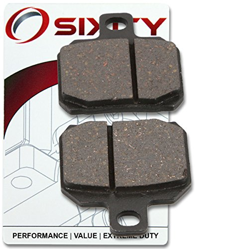 Complete Rear Brake (Sixity Rear Organic Brake Pads 2014 Ducati 1199 Superleggera Set Full Kit Panigale Complete)