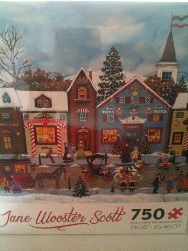 Jane Wooster Scott Puzzle, 750 Pieces Puzzle, Scott Christmas by Ceaco eec7b8