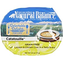 Dick Van Patten's Natural Balance Delectable Delights Catatouille 12-Pack Cat Stew Formula, 2.5-Ounce by Natural Balance [Pet Supplies]