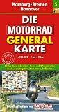 img - for Die Motorrad Generalkarte Deutschland 05. Hamburg, Bremen, Hannover book / textbook / text book