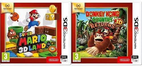 Super Mario 3D & Donkey Kong Country Returns 3D SELECTS: Amazon.es ...