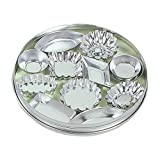Fox Run 3620 Mini Tartlet Set, Tin Plated Steel, 36-Piece