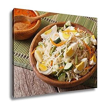 Amazon.com: Ashley Canvas Gado Gado Indonesian Vegetable Salad ...