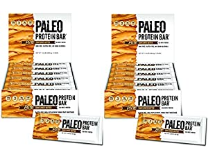 Paleo Protein Bar® (Organic SunButter) 24 Bars (150 Cal, 20g Egg White Protein 5 Net Carbs)