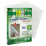 TRUTREND Plastic Paper Jacket Sleeves | Clear Heavyweight Sheet Protectors - Great for Long Term Document Storage, Reports and Presentations – A4 Size, 25 Pack