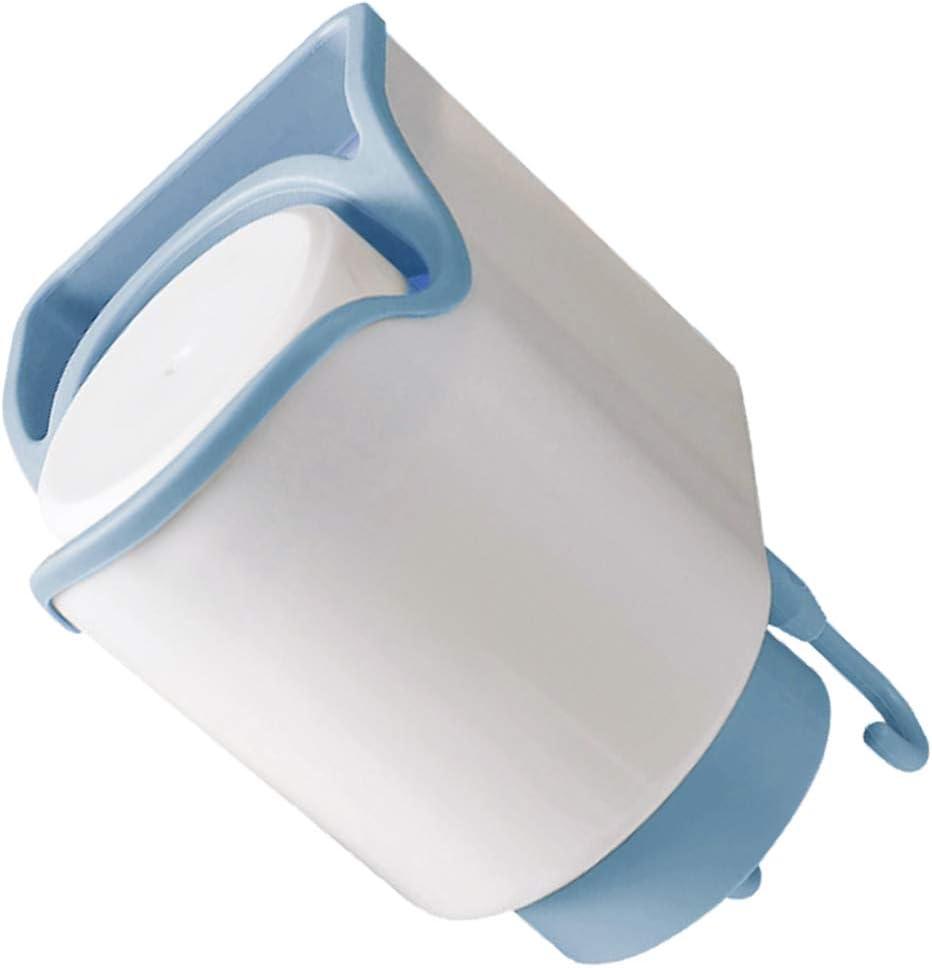 TOPBATHY Support de Brosse a Dents Mural Coupe Ensemble de Dentifrice Stand Plateau Stockage Tasse Tasse Organisateur pour la Cuisine Salle de Bain Maison Rose