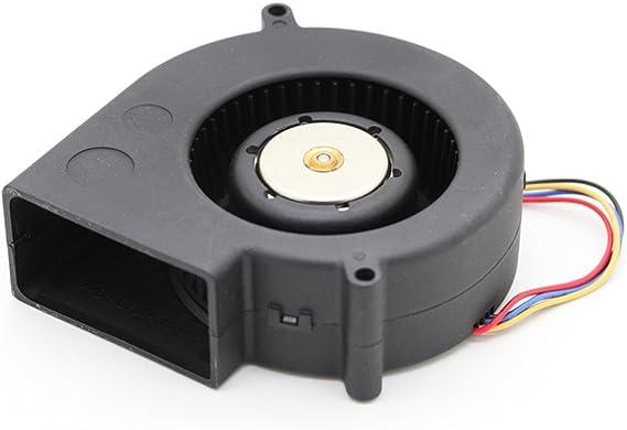 Original 9733 BFB1012VH 12V 1.80A 4-wire PWM high air volume turbine blower fan