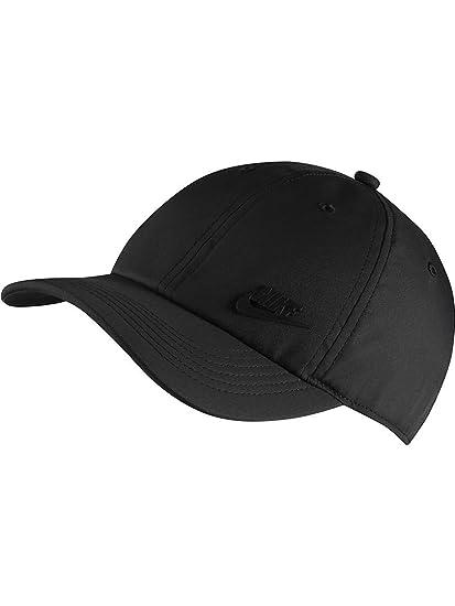 Nike Y NK H86 Cap Metal Futura Hat, Unisex niños, Black, MISC
