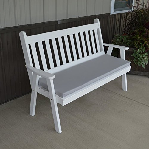 A & L Furniture Yellow Pine Traditional English Garden Be...