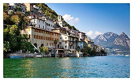 Suiza casas lago montañas St. Moritz ciudades muebles & decoración ...