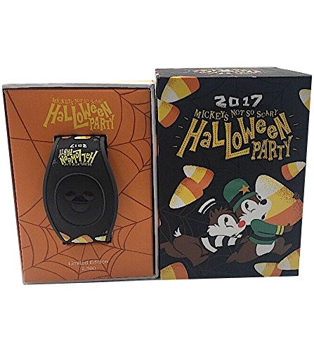 Disney Mickey's Not Scary Halloween Party 2017 MagicBand 2 Bracelet Chip and -