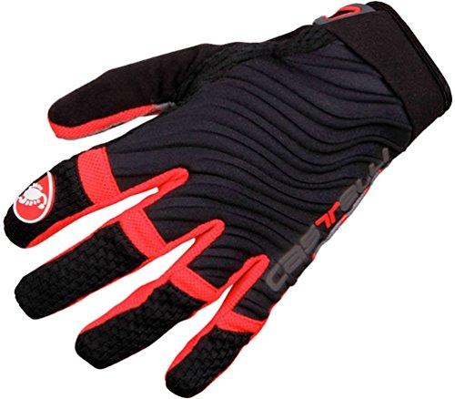 Castelli CW 6.0 Cross Glove - Men's Black/Red/White