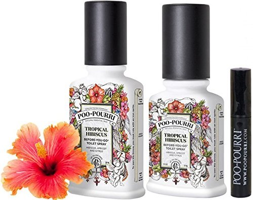 Poo Pourri 3 Piece Bathroom Deodorizer Set Trap A Crap Health Personal Care