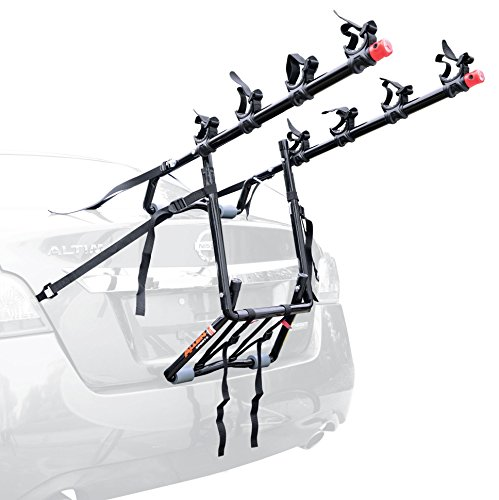 Volkswagen Rabbit Wagon - Allen Sports Deluxe 4-Bike Trunk Mount Rack