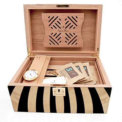 Cigar Star Boketto Humidor Limited Edition Optical Illusion Made from Wood! by Cigar Star (Image #3)