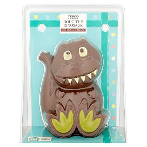 Belgian Easter Milk Chocolate Doug the Dinosaur ()