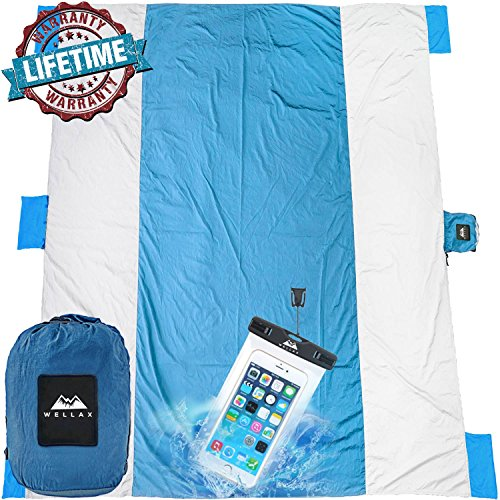Chillax WellaX Outdoor Camping Blanket - Huge 9'