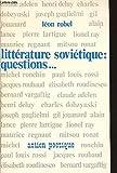Littérature soviétique, questions