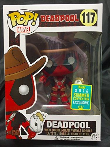 Funko POP! Cowboy Deadpool #117 Summer Convention Exclusive