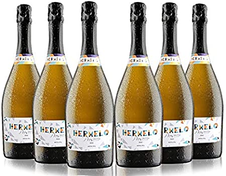 Hermelo Prosecco Doc Treviso Extra Dry - 75 cl - 6 botellas
