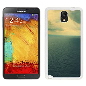 Clouds Landscape On Sea (2) Hard Plastic Samsung Galaxy Note 3 Protective Phone Case