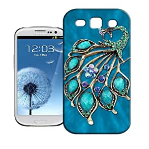 BIOIPHONECASE The peacock jewelry TPU Phone Case For Samsung Galaxy S3