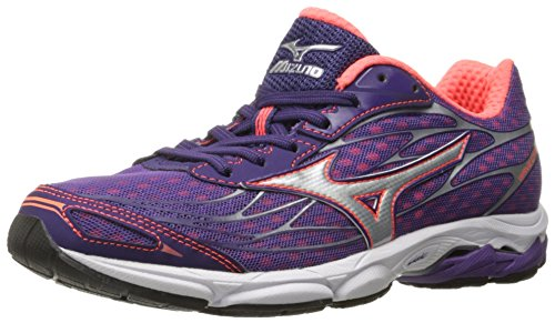 Mizuno Women's Wave Catalyst-w Running Shoe, Pansy-Diva Pink, 6.5 B US ()