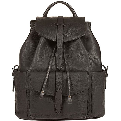 Will Leather Goods Rainier Backpack Black/Blue, One Size by Will Leather Goods