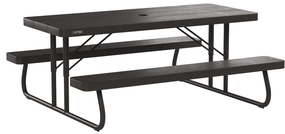 Lifetime 6' Folding Picnic Table - Brown by Lifetime