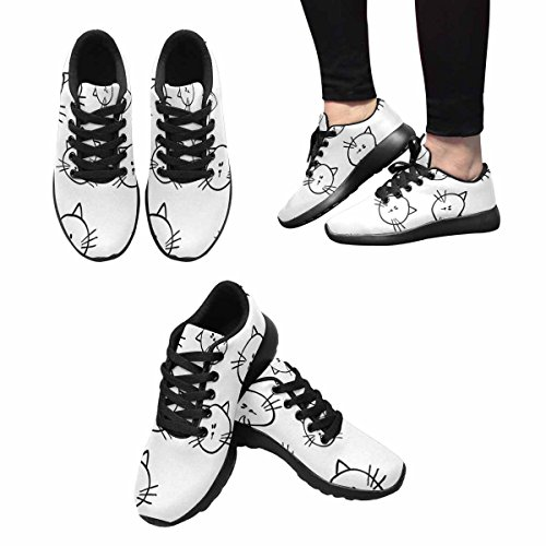 Scarpa Da Jogging Leggera Da Donna Running Running Leggera Easy Go Walking Comfort Sportivo Scarpe Da Ginnastica Gatti Modello Multi 1