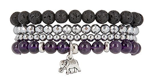 Beginnings Elephant Stretch Bracelet Stack product image