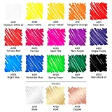 Arteza Oil-Based Paint Markers, Set of 20 Assorted
