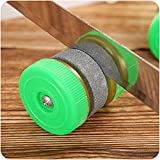 Knives Sharpener,Clearance!!! Hongxin Portable Double Rabbet Sharpener Outdoor Tools Grindstone Kitchen Gadgets Tools Supplies