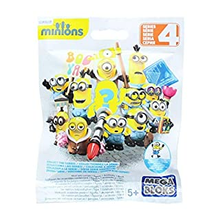 Mega Bloks Despicable Me Minion Blind Pack Series 3 - Foil Poly Bag - 1 Assorted Piece