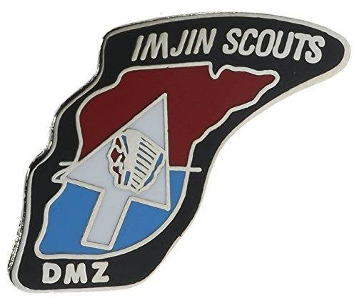 US Army Imjin Scouts DMZ Korea Hat or Lapel Pin H15345D61