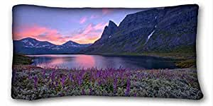 """Custom Characteristic Nature DIY Pillow Cover Size 20""""X36"""" suitable for Twin-bed"""