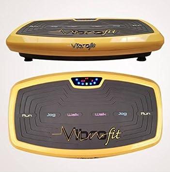 Vibrofit - Plataforma vibratoria de entrenamiento, incluye bandas ...