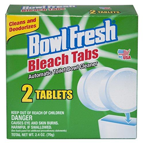 Fresh Products Bowl Blocks - Bowl Fresh Bleach Tabs - 2 Tablet Pack (1)
