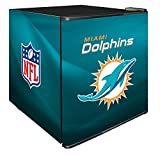 NFL Miami Dolphins Refrigerated Counter Top Cooler, Small, Aqua