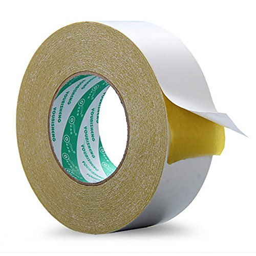 Heavy Duty Cloth Duct Tape (Double Sided Tape - Multi-Purpose Double Sided Duct Tape Perfect for Indoor and Outdoor Removable Heavy Duty Mounting Tape, 1.41-Inch by 20-Yards)