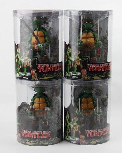 Amazon.com: NECA TMNT Teenage Mutant Ninja Turtles cifras de ...