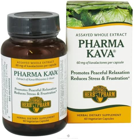 Herb Pharm, Kava, 60 Tablets