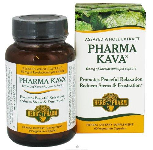 Herb Pharm, Kava, 60 Tablets