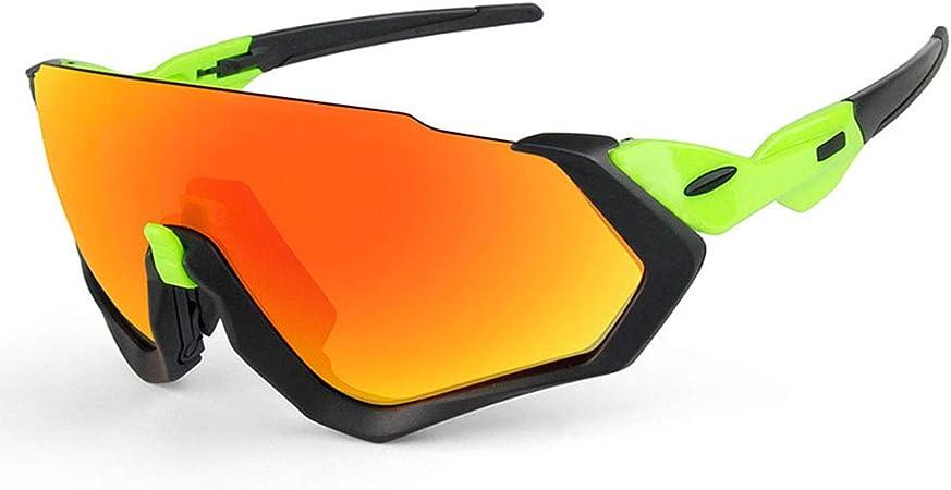 Equitación Gafas de chorro de arena Ciclismo Gafas para correr Gafas de sol polarizadas para deportes
