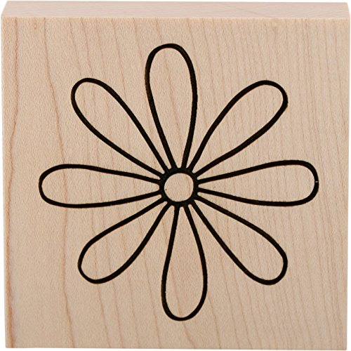 Mount Petal - CLEARSNAP Wood Mount Stamps 3-inch-by-3-inch, 3