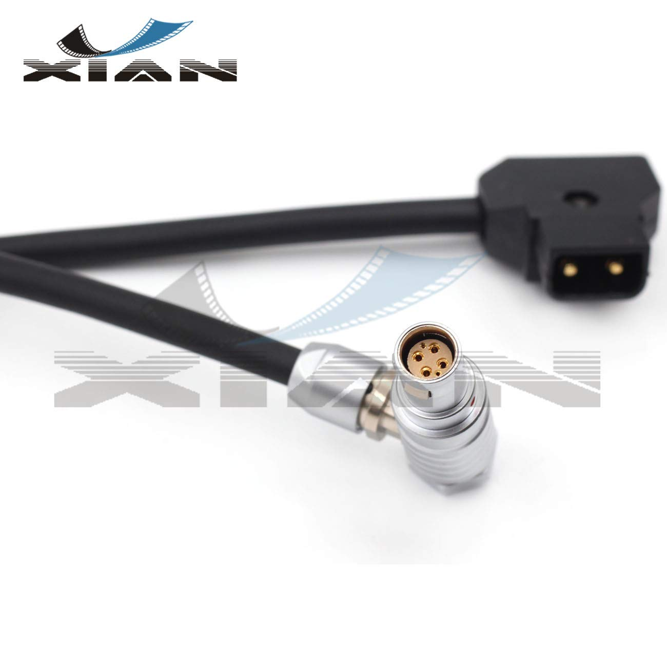 Y'XIAN Red Scarlet Camera Power Cable,D-Tap to 1B 6pin Power Cable for Red Scarlet & Epic Camera